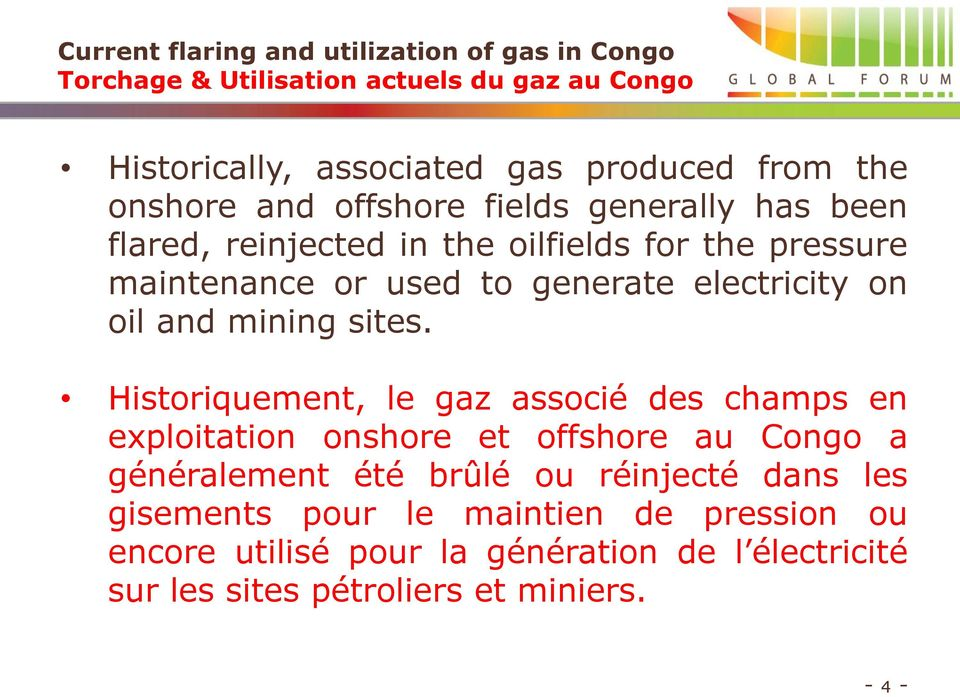 on oil and mining sites.