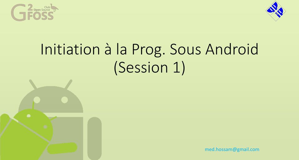 Android (Session