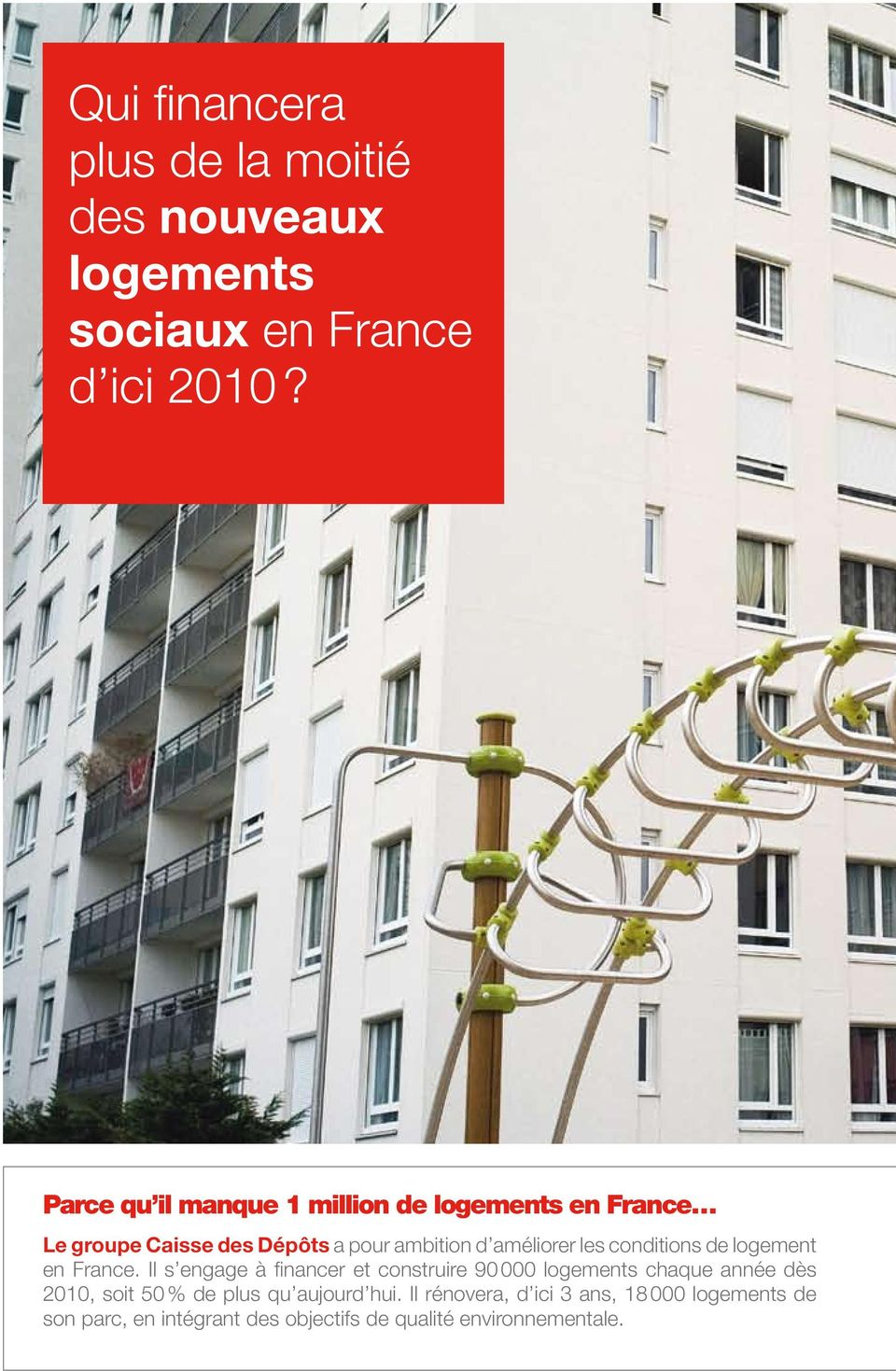 conditions de logement en France.