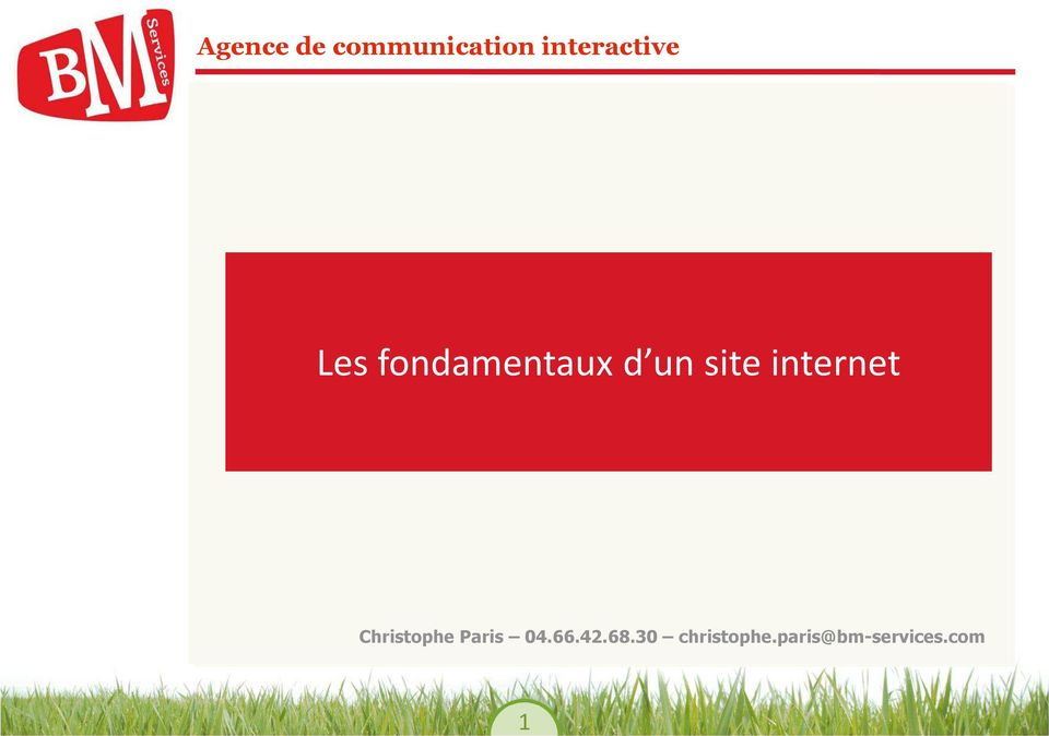 site internet DESIGN Christophe