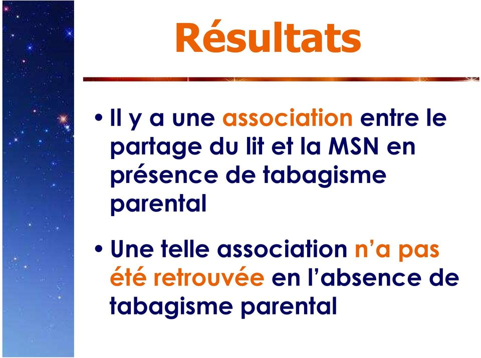 tabagisme parental Une telle association n a