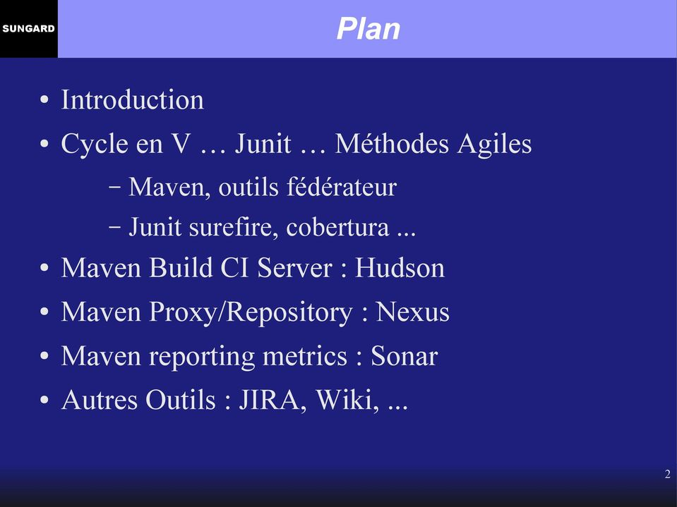 .. Maven Build CI Server : Hudson Maven Proxy/Repository