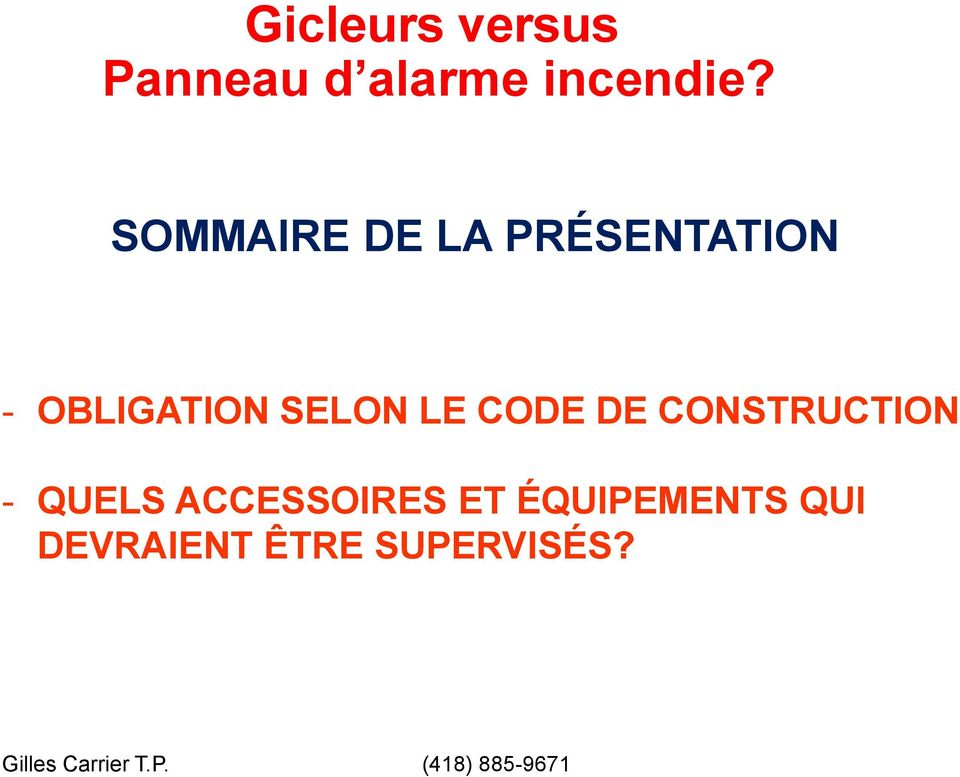 CODE DE CONSTRUCTION - QUELS