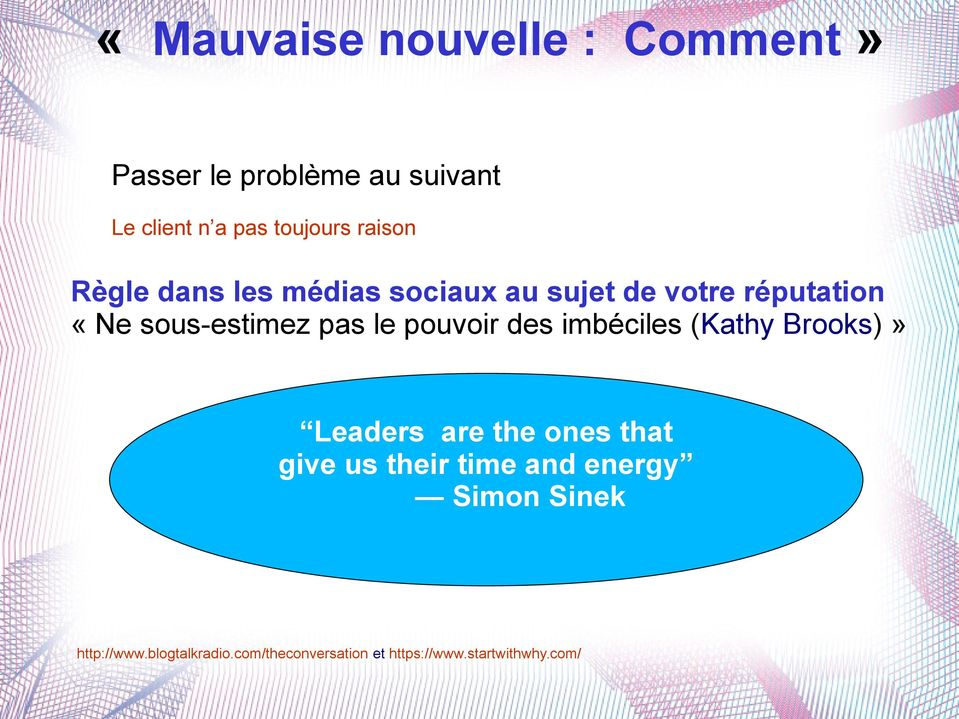 pouvoir des imbéciles (Kathy Brooks)» Leaders are the ones that give us their time and