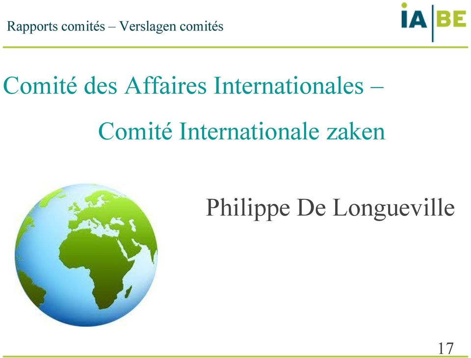 Internationales Comité