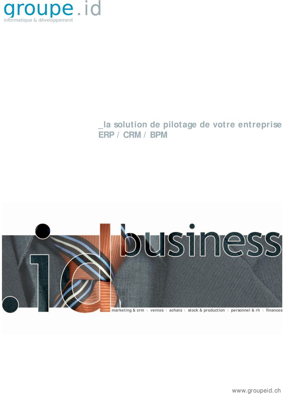 entreprise ERP / CRM / BPM marketing