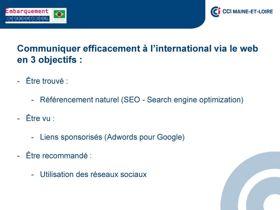 Search engine optimization) - Être vu : - Liens sponsorisés