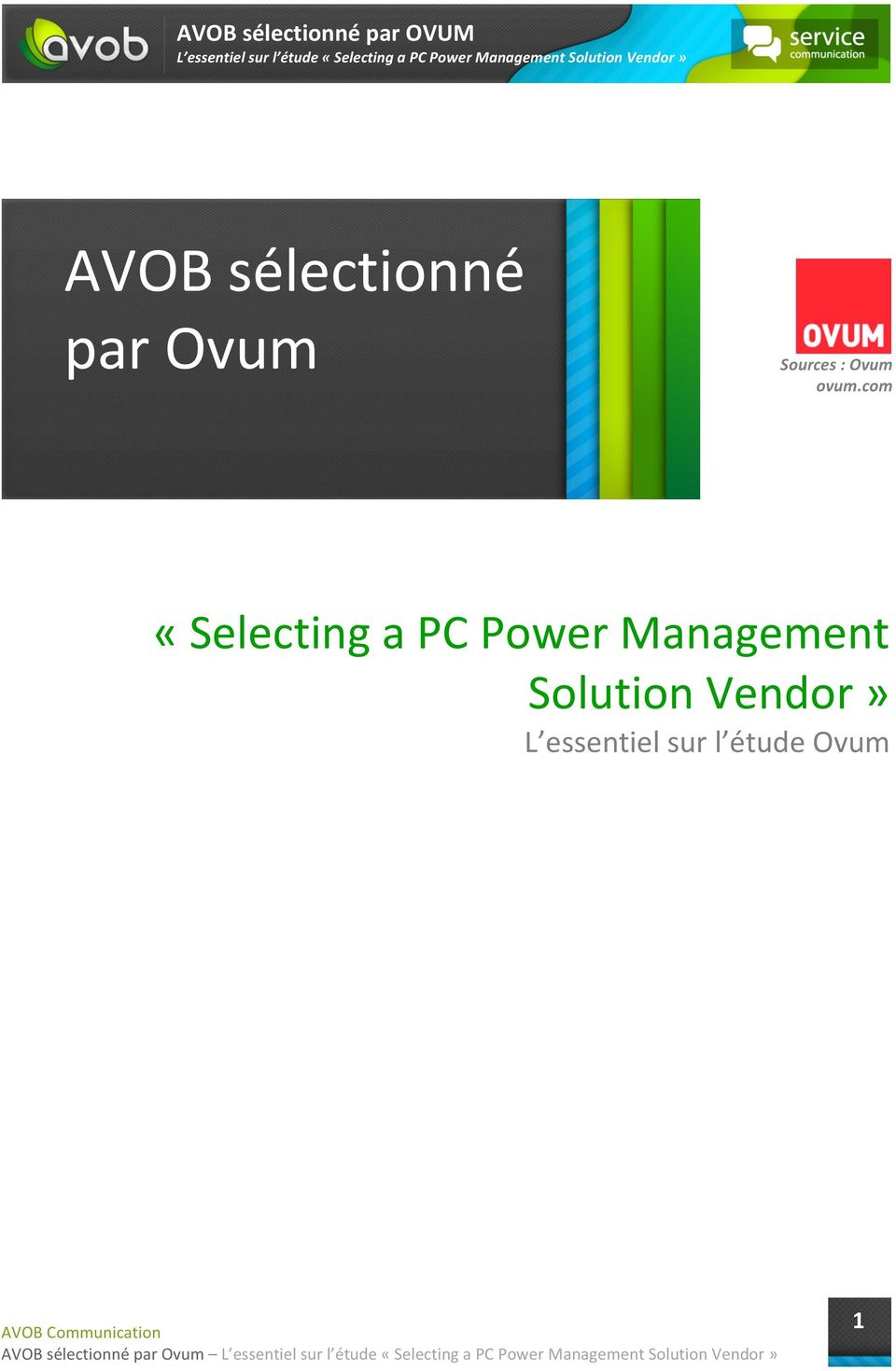 com «Selecting a PC Power Management
