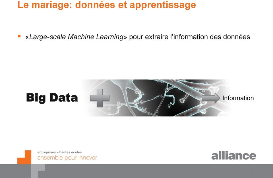 Machine Learning» pour extraire