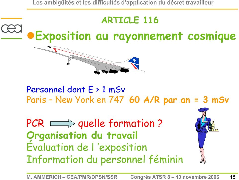 par an = 3 msv PCR quelle formation?