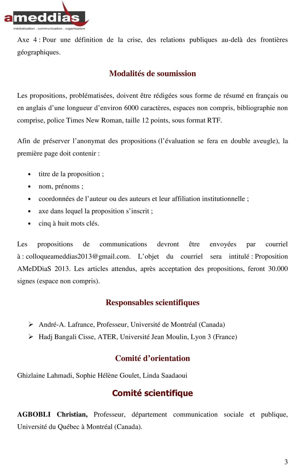 bibliographie non comprise, police Times New Roman, taille 12 points, sous format RTF.