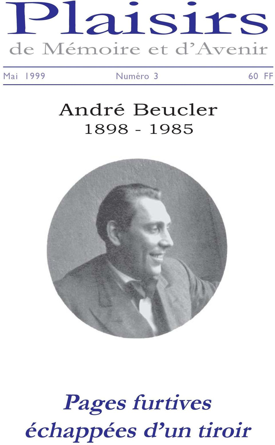 FF André Beucler 1898-1985