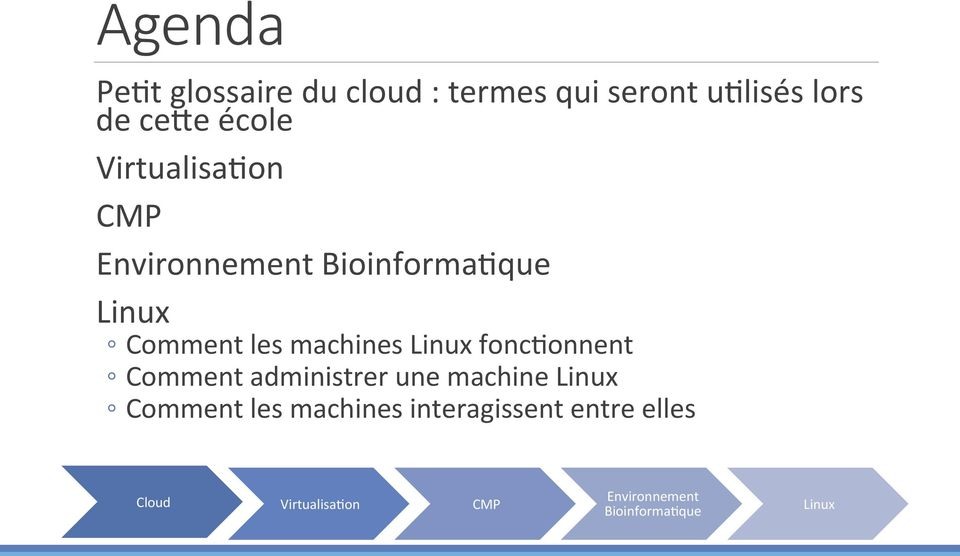 Linux fonc$onnent Comment administrer une machine Linux Comment les machines