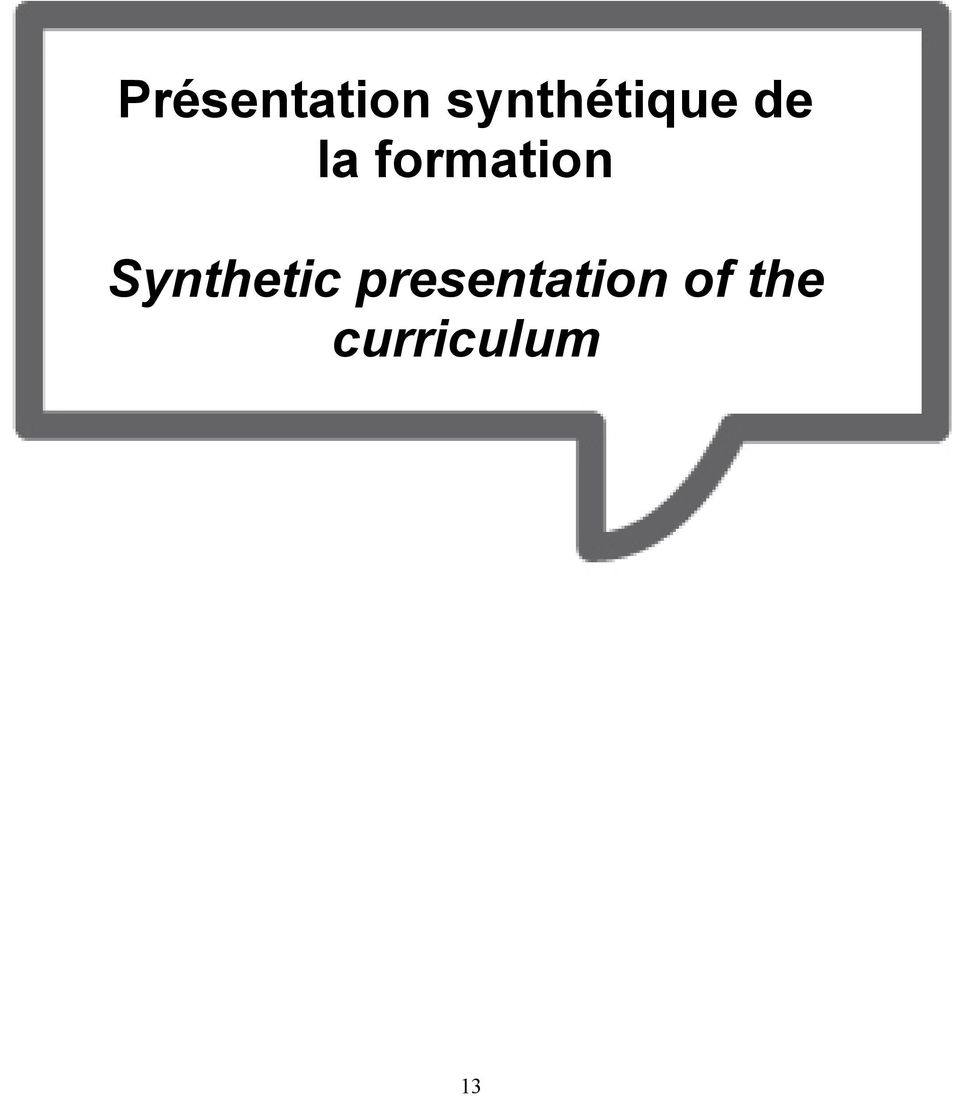 formation Syntetic