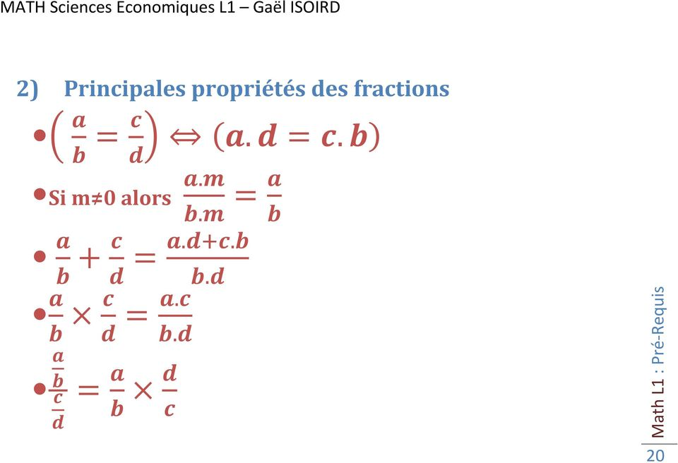 fractions =.