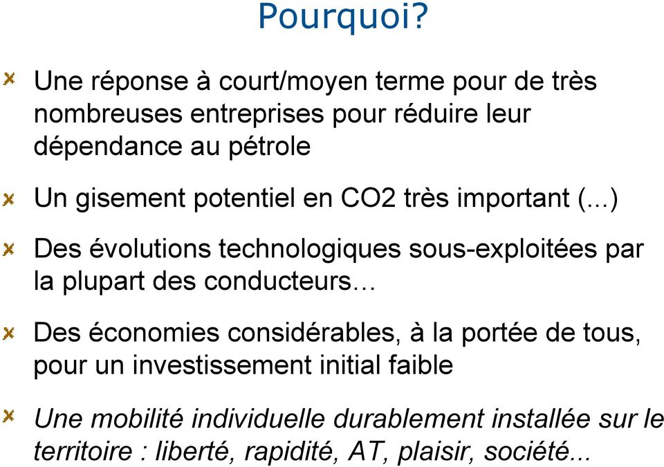 Un gisement potentiel en CO2 très important (.