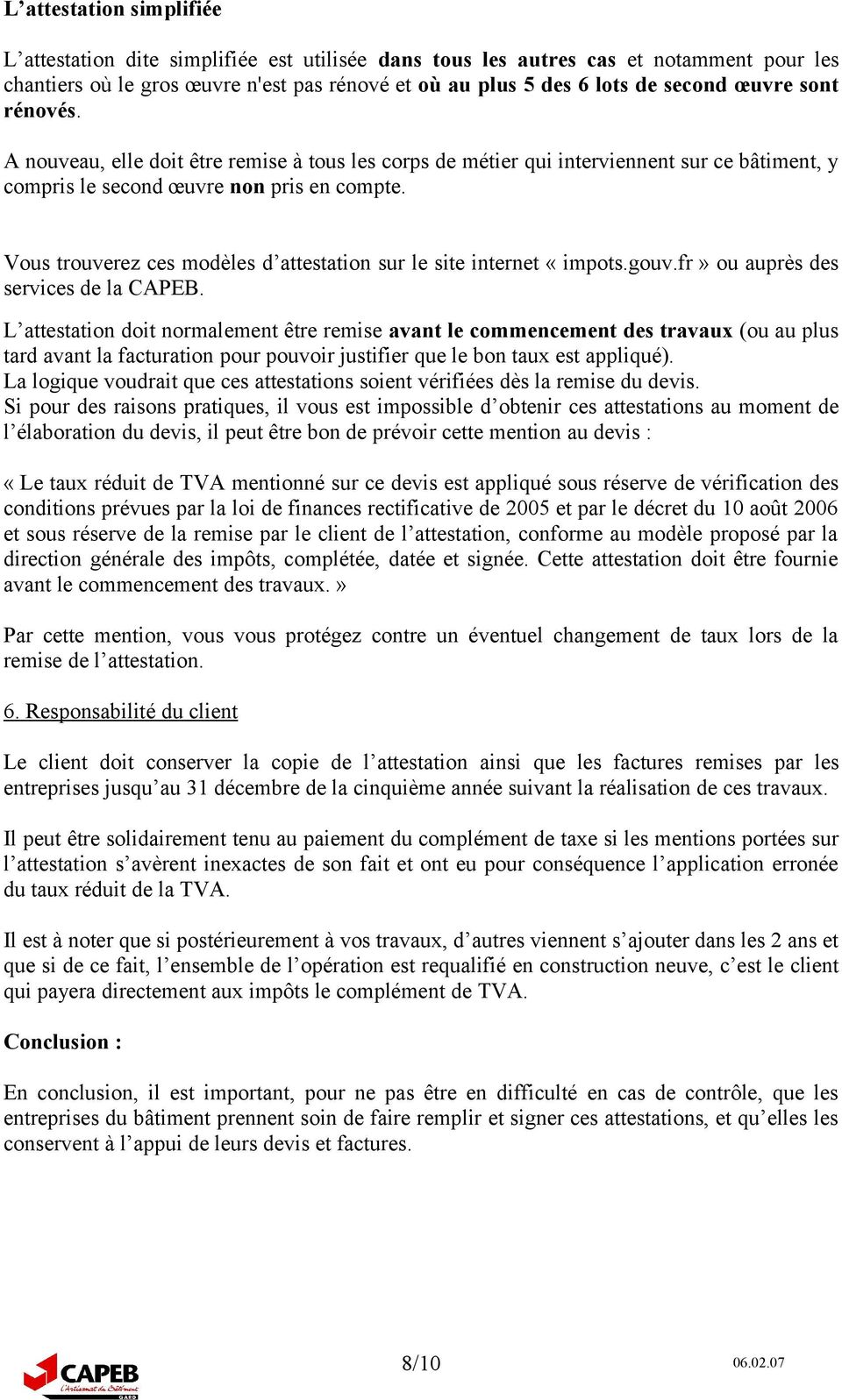 La tva 5 5 les derni res modifications pdf - Attestation tva 5 5 ...