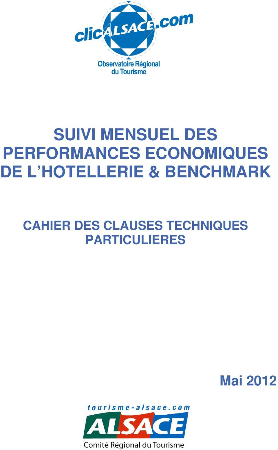 BENCHMARK CAHIER DES CLAUSES