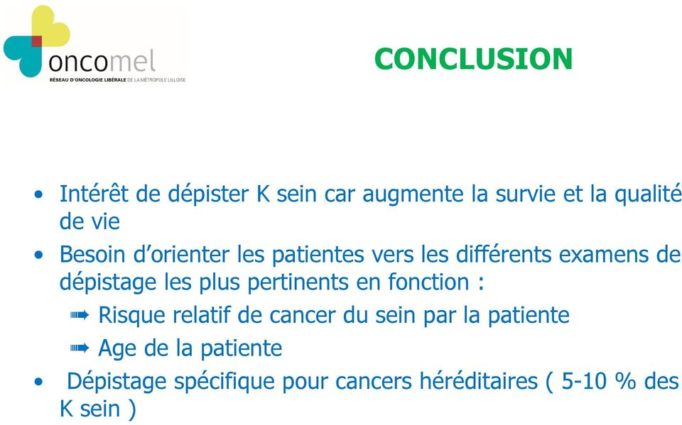 pertinents en fonction : Risque relatif de cancer du sein par la patiente Age de