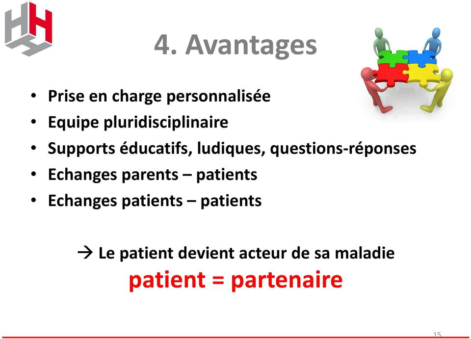 questions-réponses Echanges parents patients Echanges
