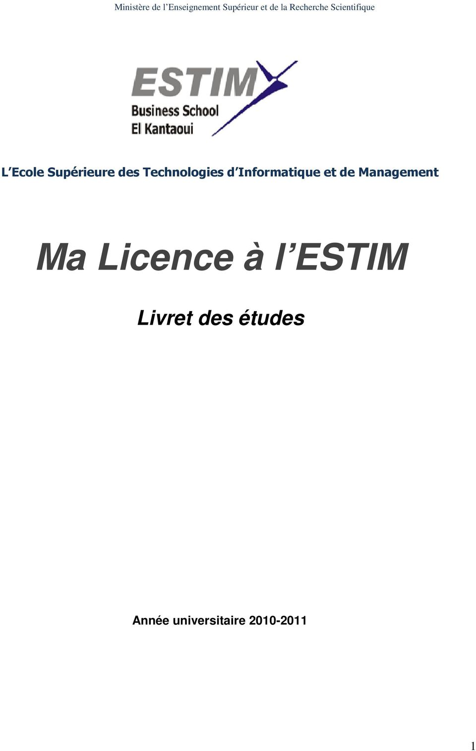Technologies d Informatique et de Management Ma