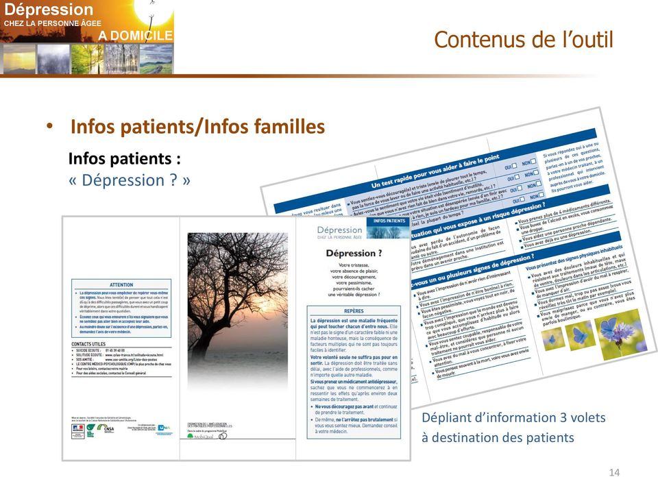 patients : «Dépression?