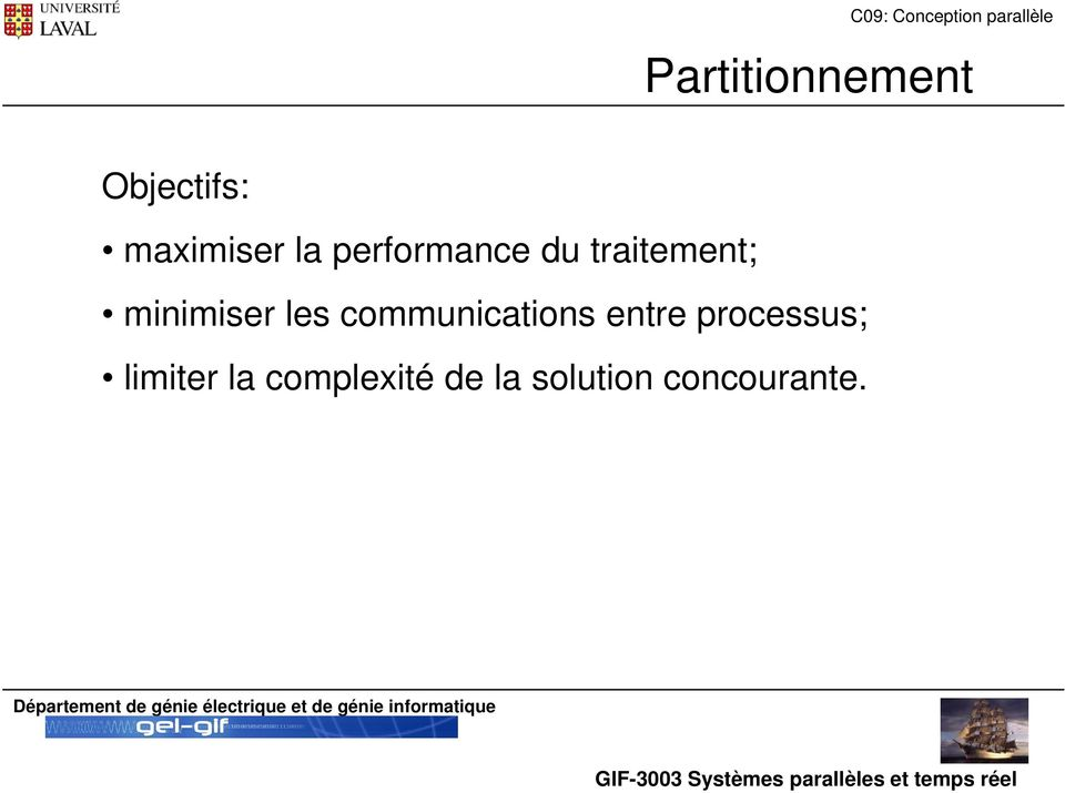 communications entre processus; limiter