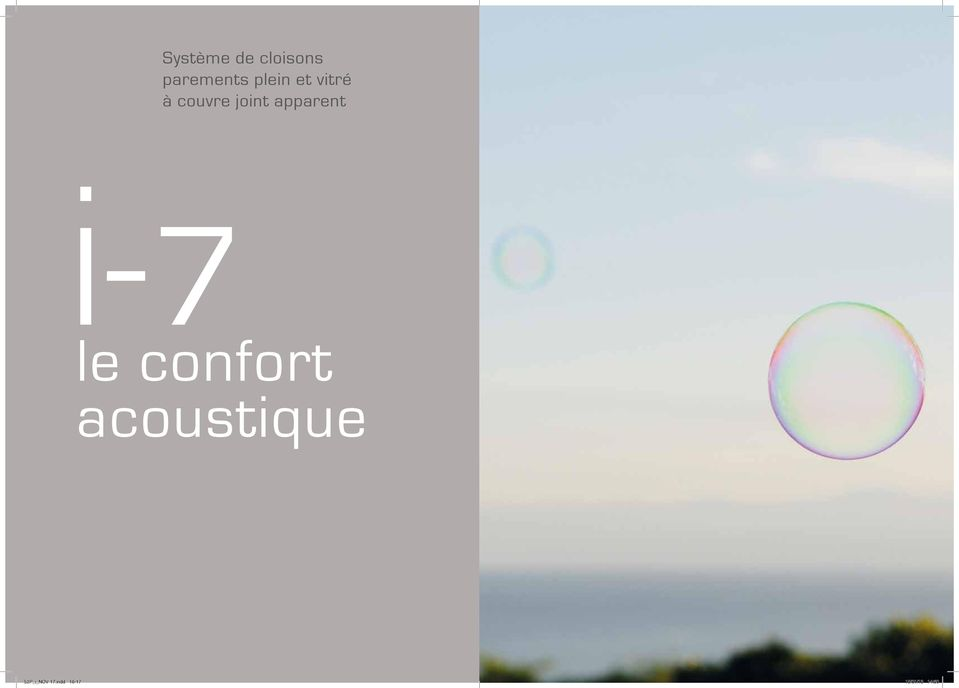 apparent 7 le confort acoustique