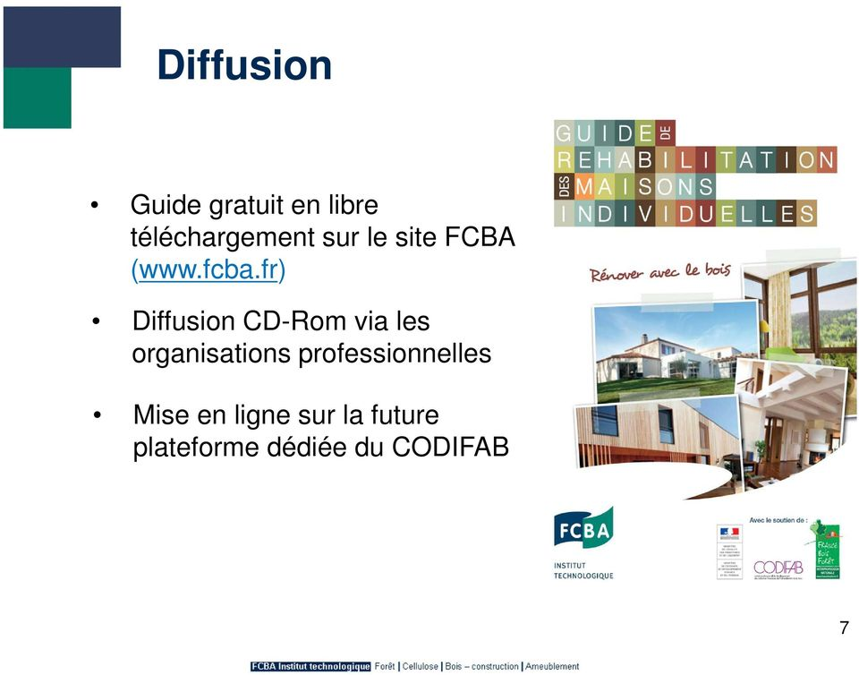 fr) Diffusion CD-Rom via les organisations