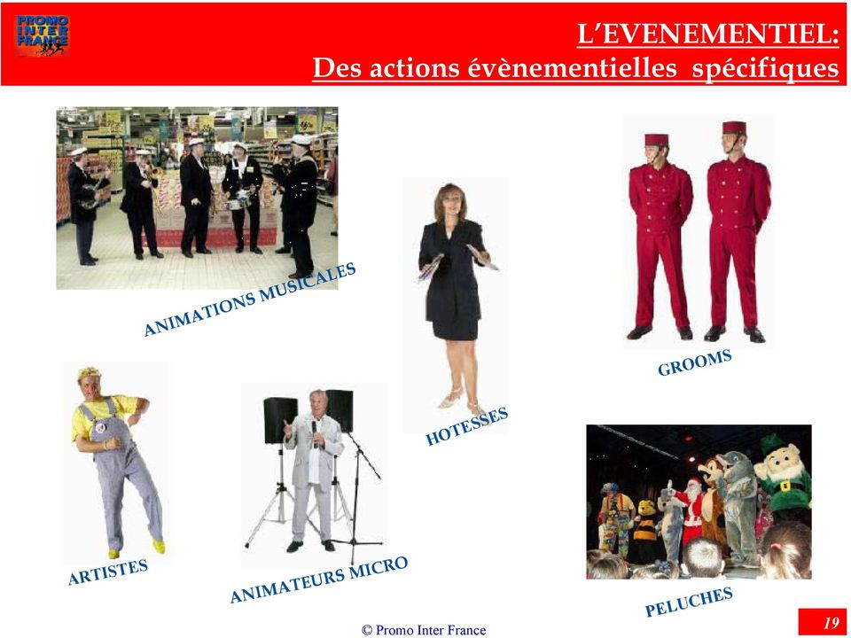 ANIMATIONS MUSICALES GROOMS