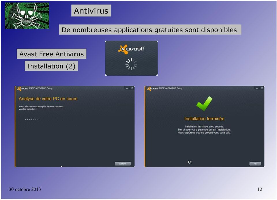 disponibles Avast Free