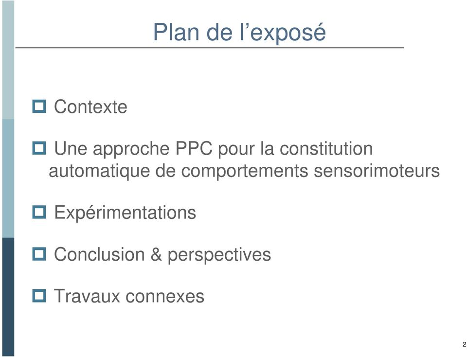 comportements sensorimoteurs
