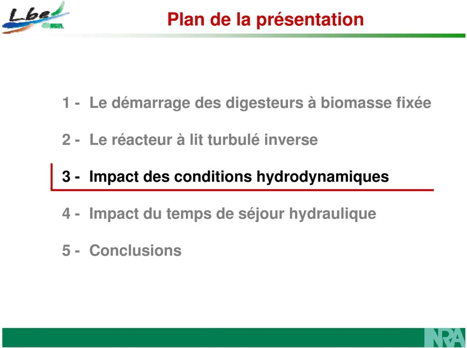 turbulé inverse 3 - Impact des conditions