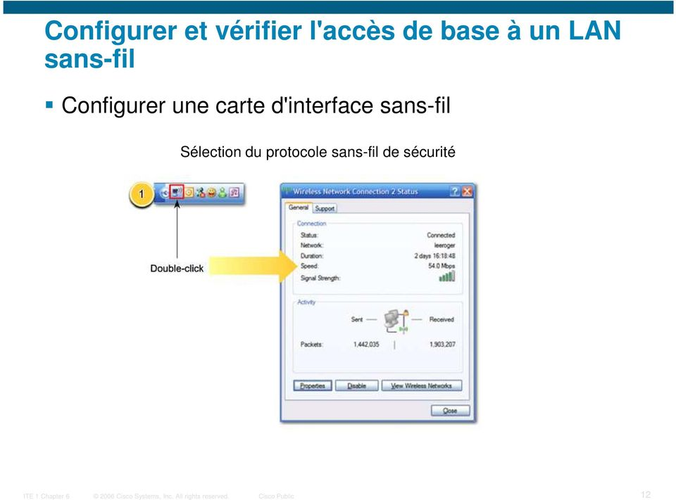 une carte d'interface sans-fil