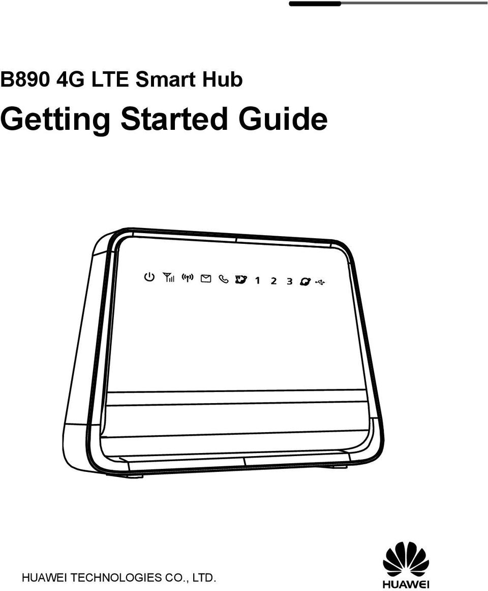 b890 4g lte smart hub getting started guide