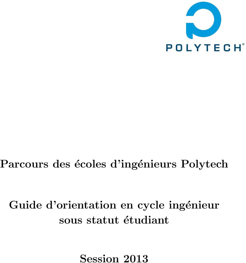 orientation en cycle