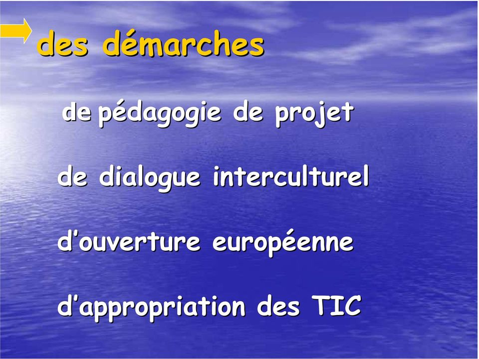 interculturel d ouverture