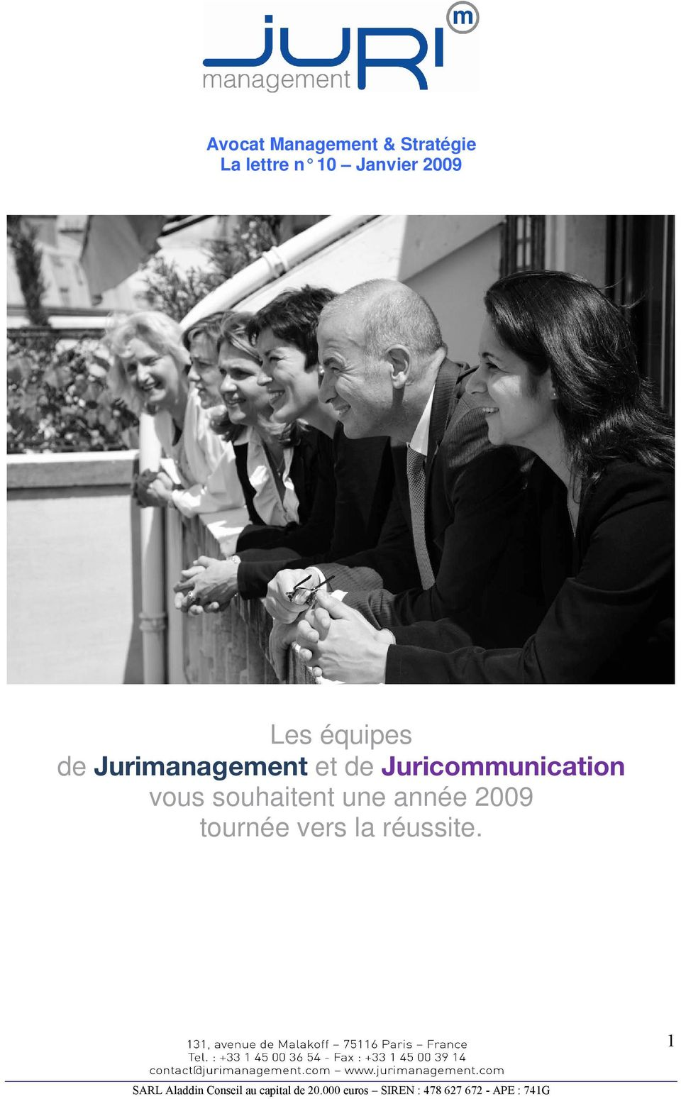 Jurimanagement et de Juricommunication