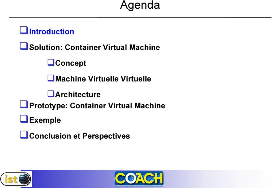 Virtuelle Architecture Prototype: Container