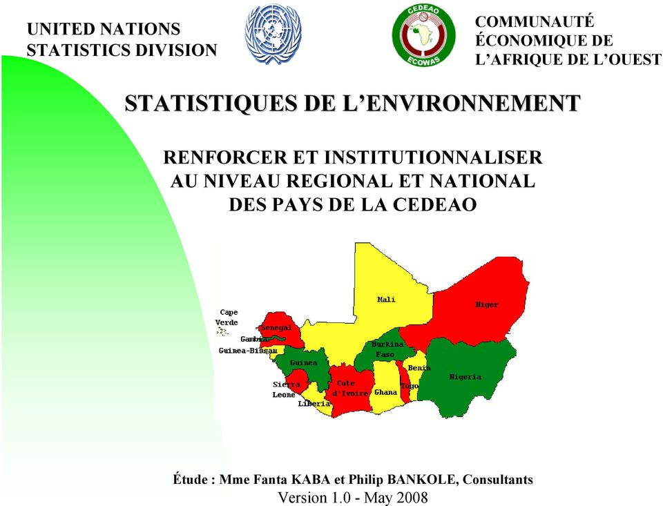 INSTITUTIONNALISER AU NIVEAU REGIONAL ET NATIONAL DES PAYS DE LA