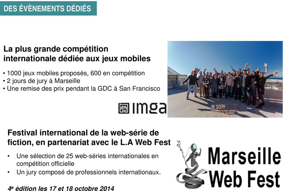 international de la web-série de fiction, en partenariat avec le L.