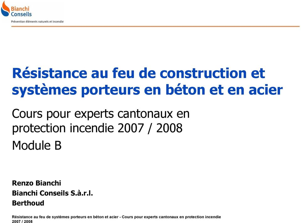 experts cantonaux en protection incendie
