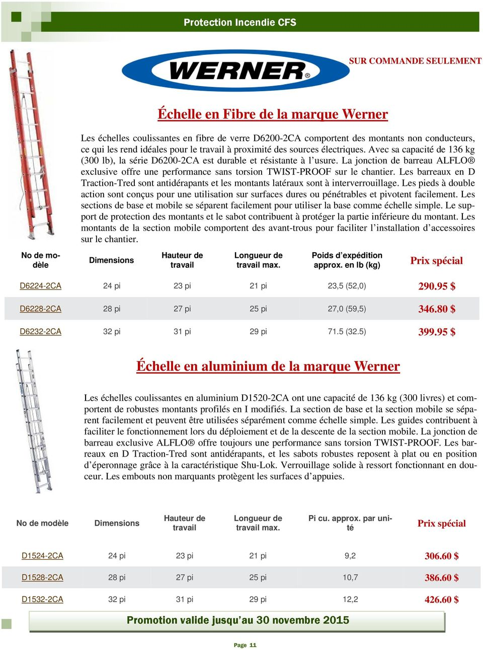 La jonction de barreau ALFLO exclusive offre une performance sans torsion TWIST-PROOF sur le chantier.
