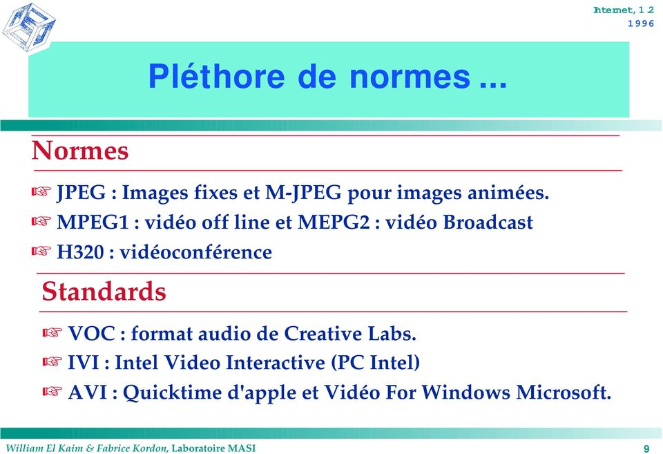 : format audio de Creative Labs.