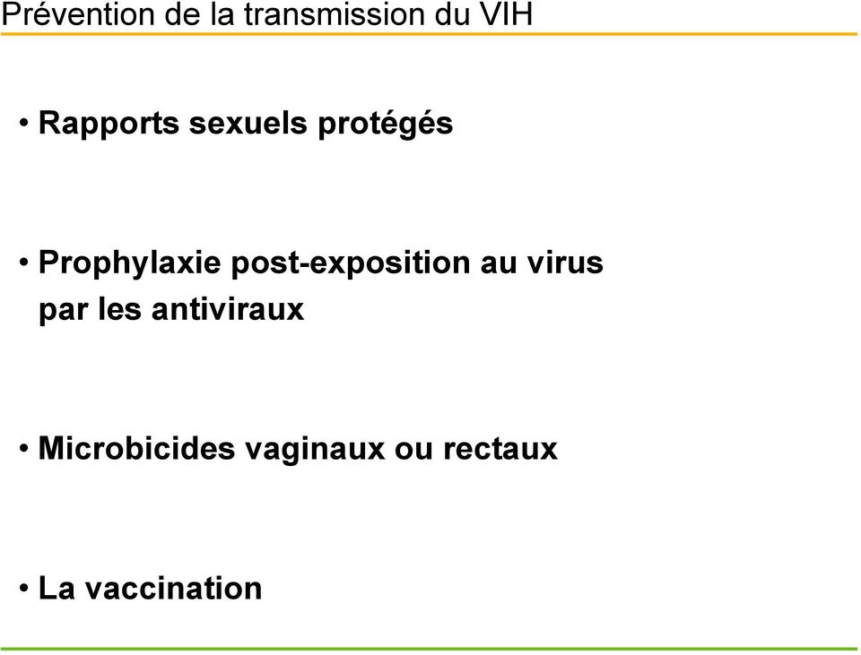 post-exposition au virus par les