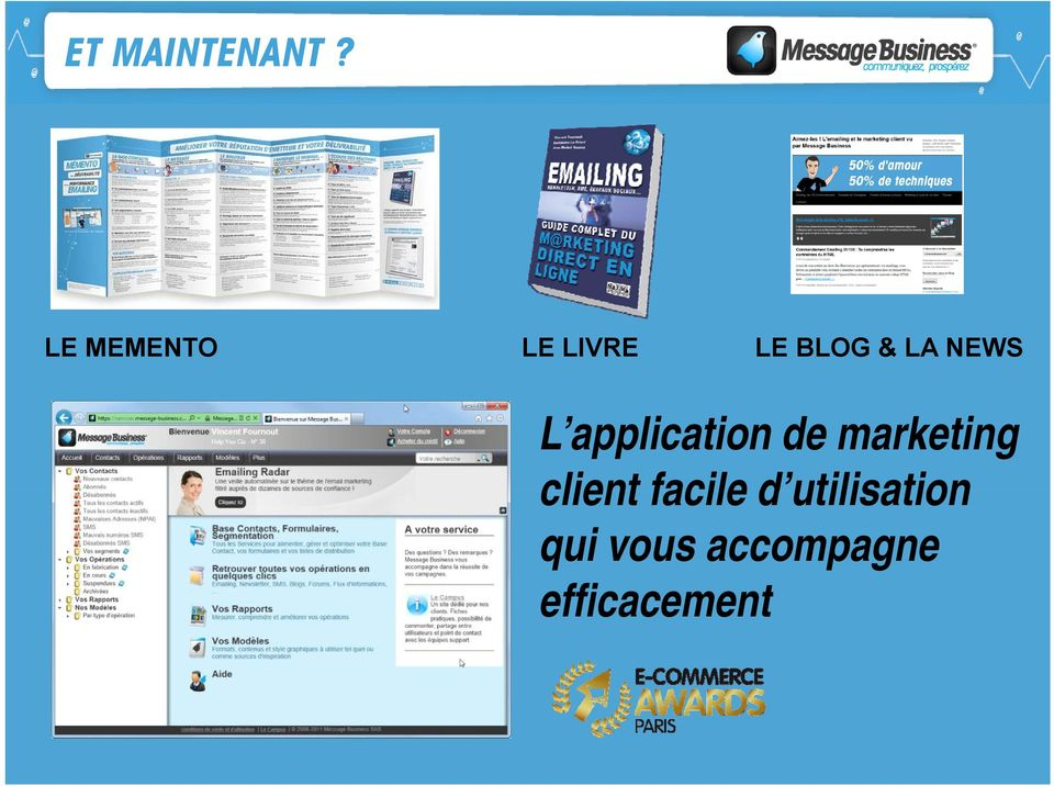 NEWS L application de marketing