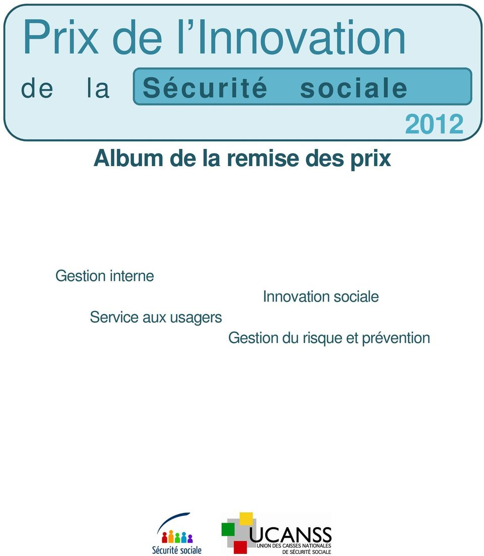 1 Gestion interne Innovation sociale