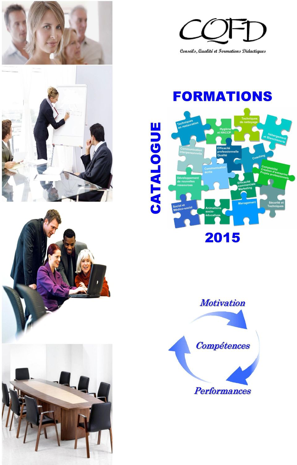 FORMATIONS CATALOGUE 2015