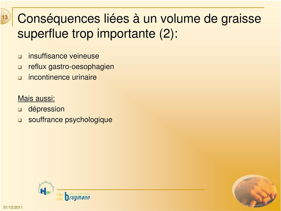 veineuse reflux gastro-oesophagien incontinence