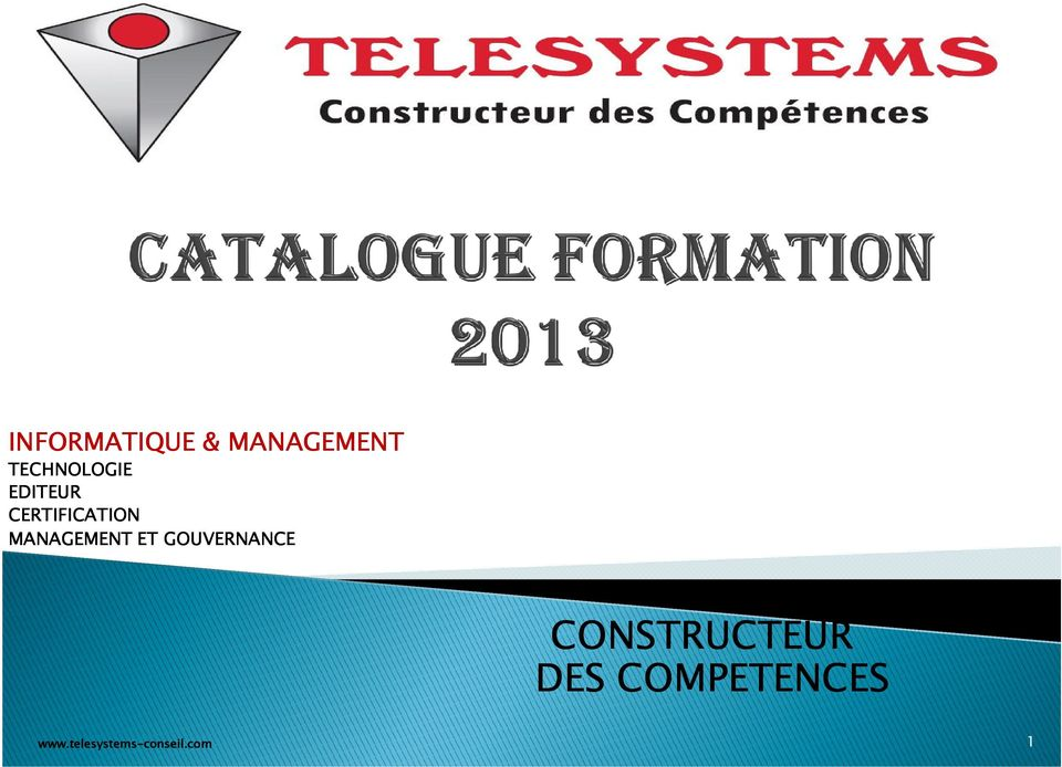 CERTIFICATION MANAGEMENT ET
